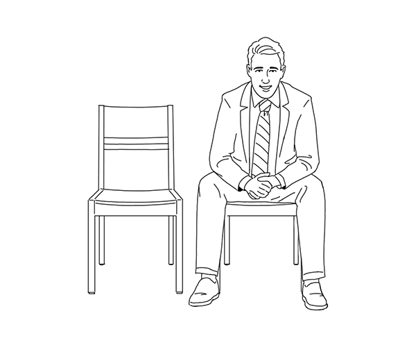 guy sitting in chair